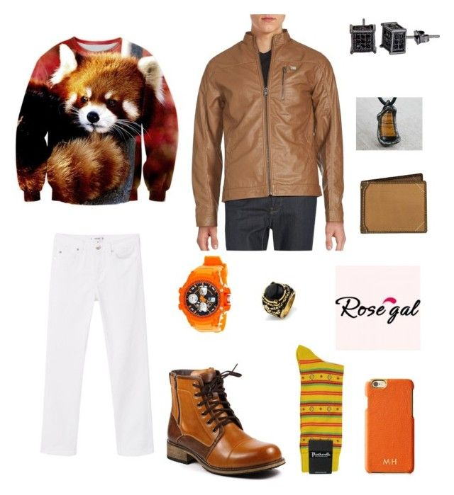 """Toasty Panda"" by tofumint ❤ liked on Polyvore featuring Everlast, MANGO, Decadence, Mark & Graham, Carhartt, West Coast Jewelry, Buffalo David Bitton, Pantherella, men's fashion and menswear"
