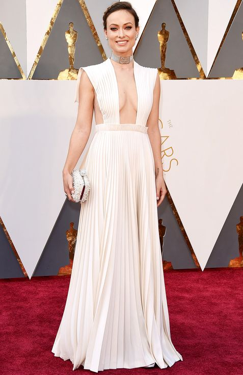 The Gest Red Carpet Risks From 2016 Oscars People Olivia Wilde In Valentino