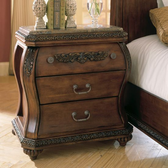 Chateau Frontenac Nightstand By Ashley Furniture B533 93 Furniture