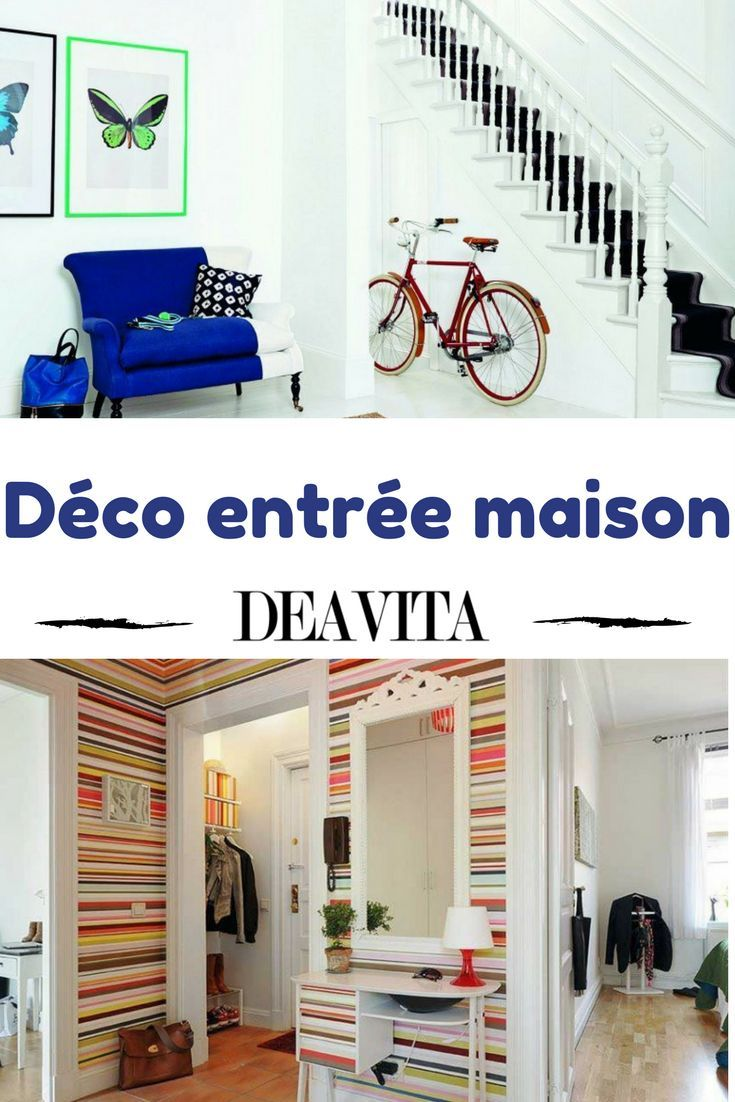 Idée Décoration Maison En Photos 2018 – L\'entrée, le couloir et la ...