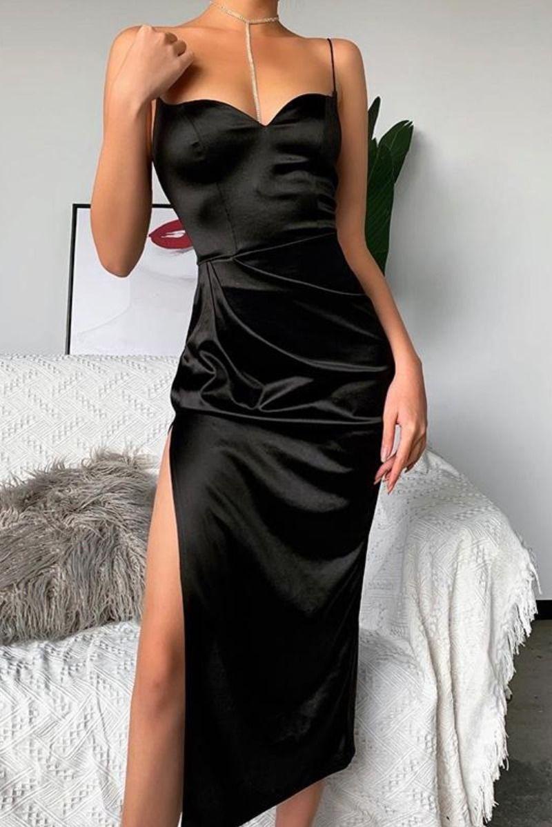 Best of Instagram FashionElegant Black Party Dress in