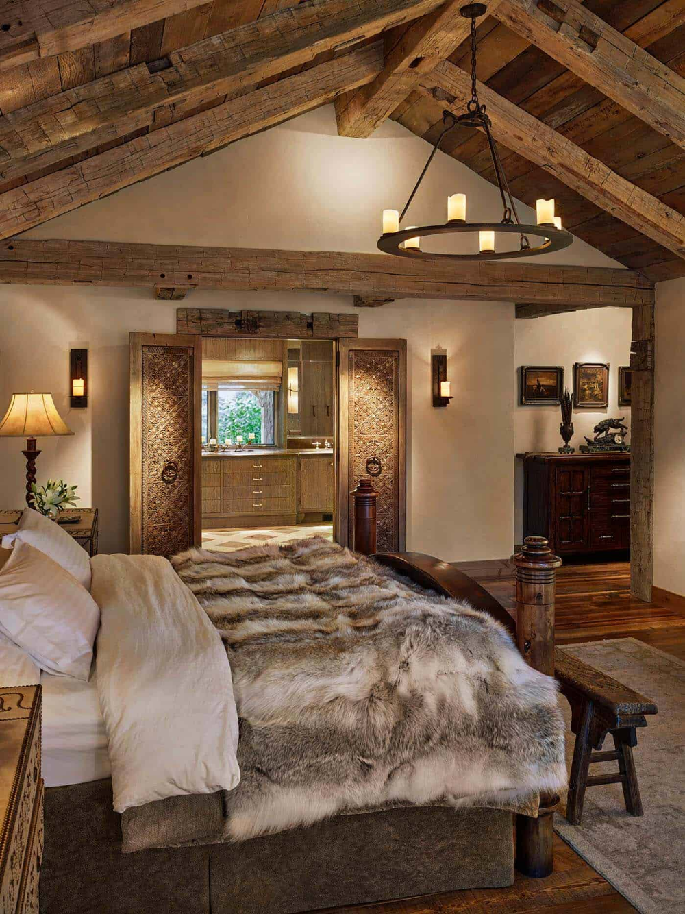 Breathtaking rustic ranch house tucked into the Beartooth Mountains