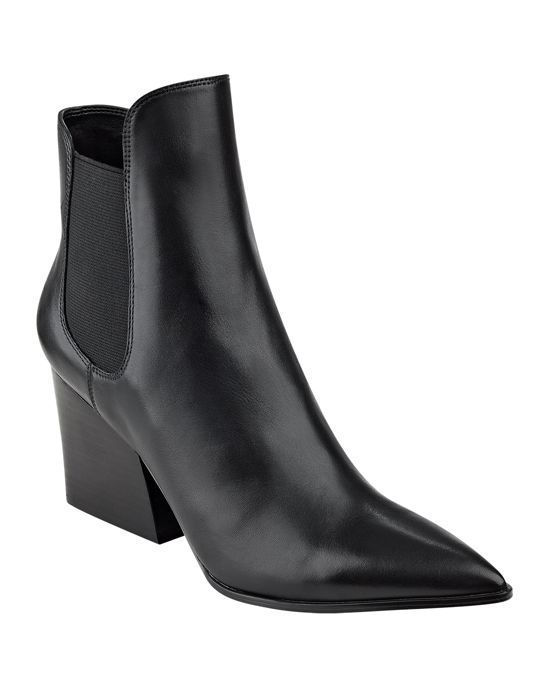 5d1d989b7 Kendall and Kylie Finley Pointed Toe Block Heel Booties | •feet