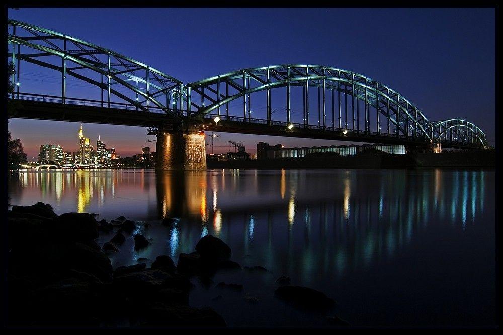 blaue Brücke von Thilo W.
