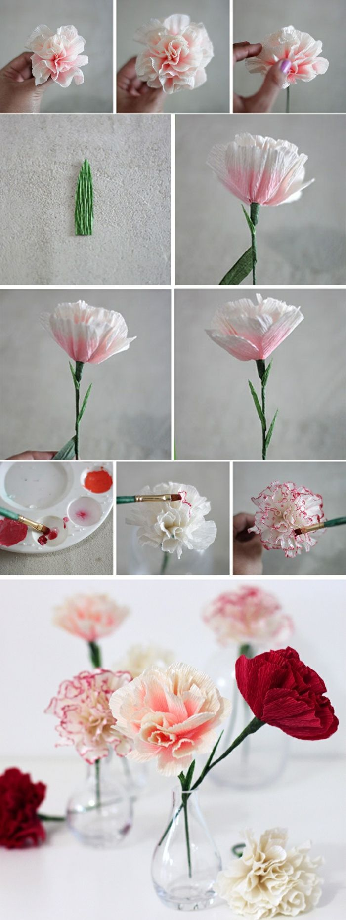 ▷ 1001+ Ideen, wie Sie Papierblumen basteln können #gartendekoselbermachen
