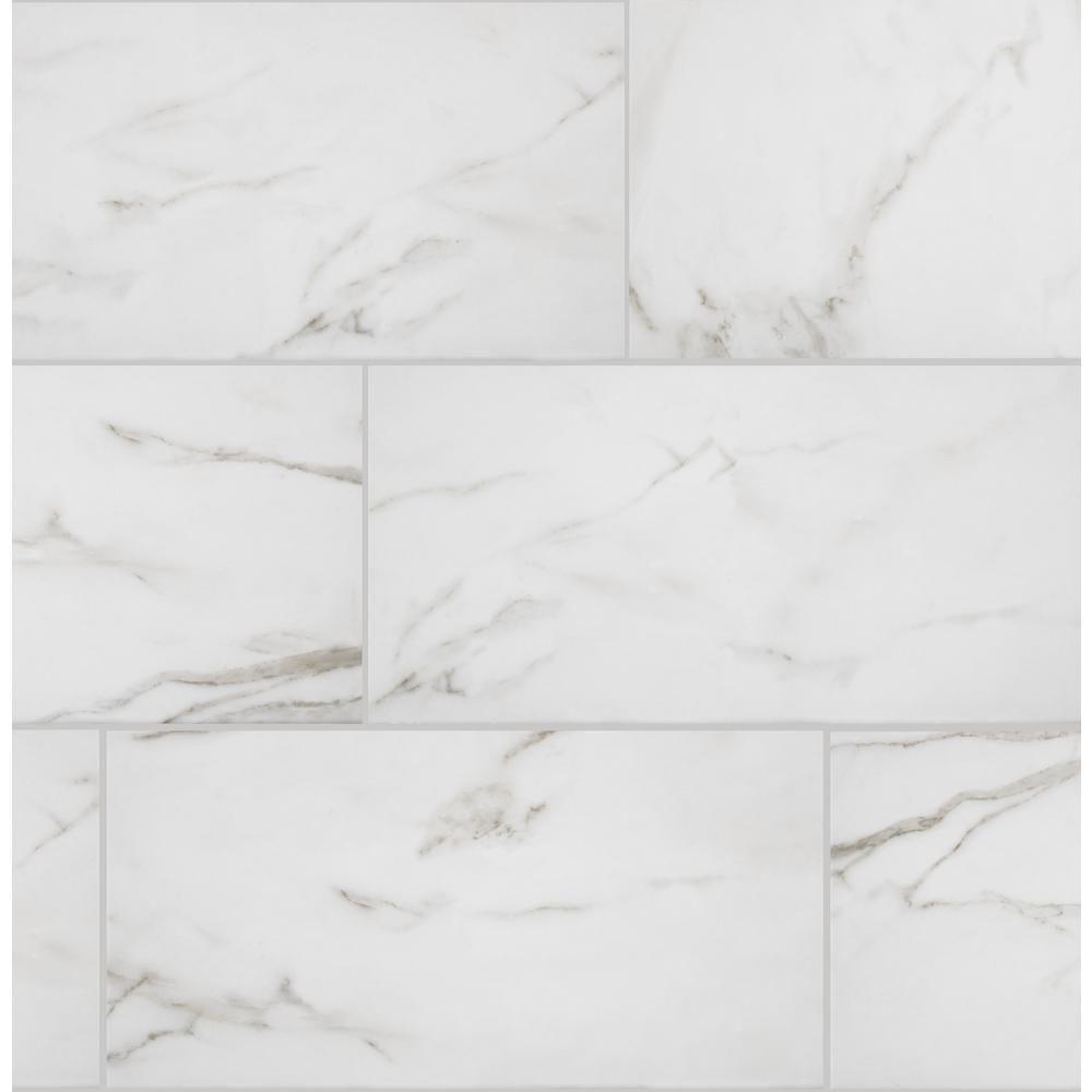 Florida Tile Home Collection Michelangelo Calacatta