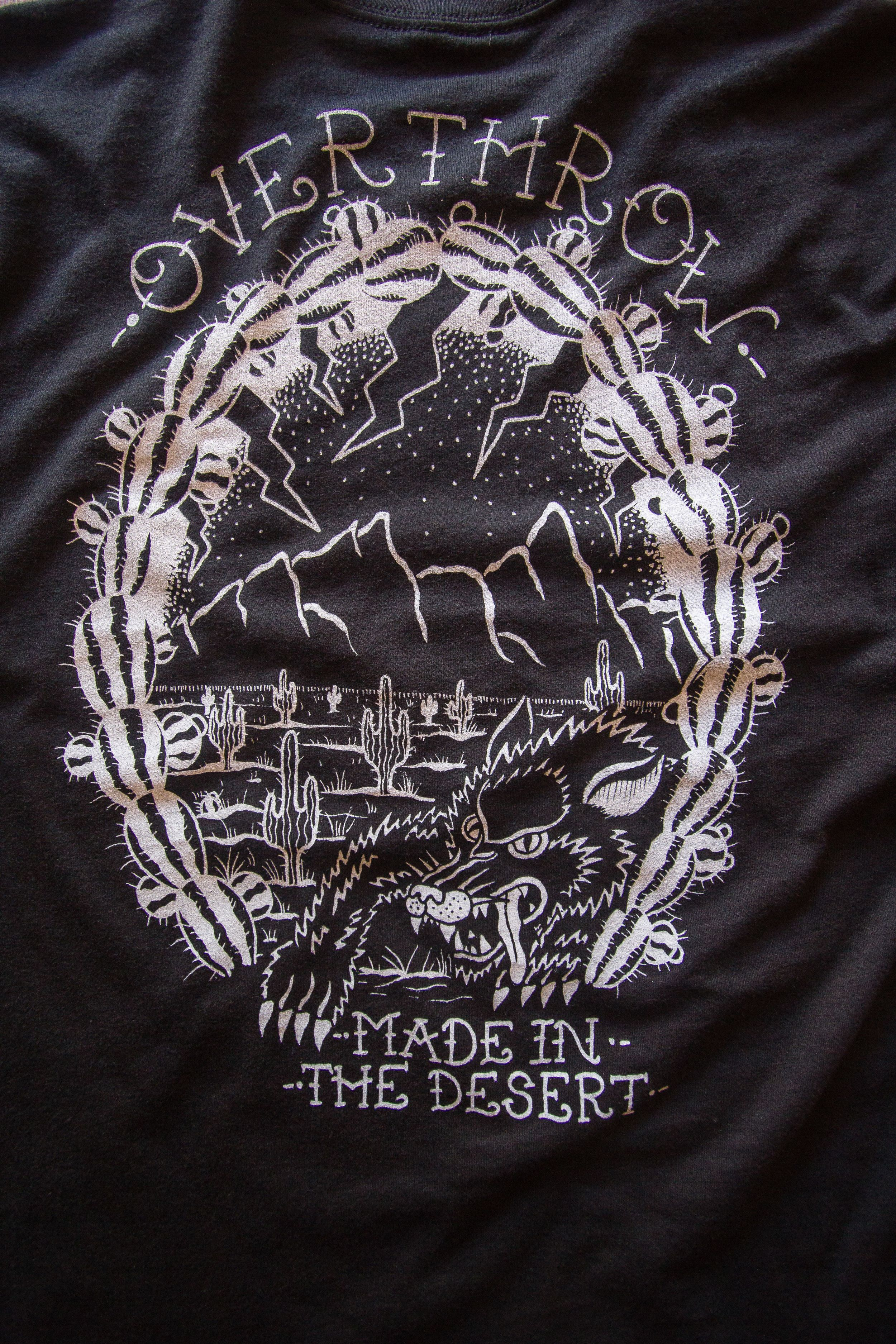 Made in the Desert Tee — Overthrow Clothing