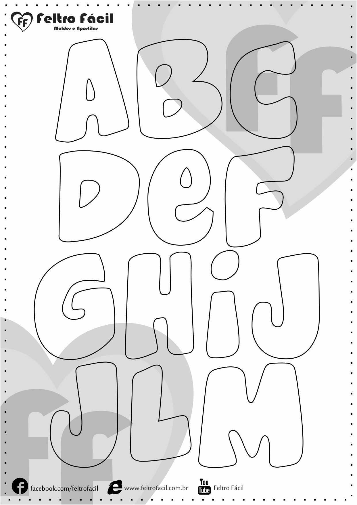 Alphabet Quiet Book Pages By Bernadette Abloane T
