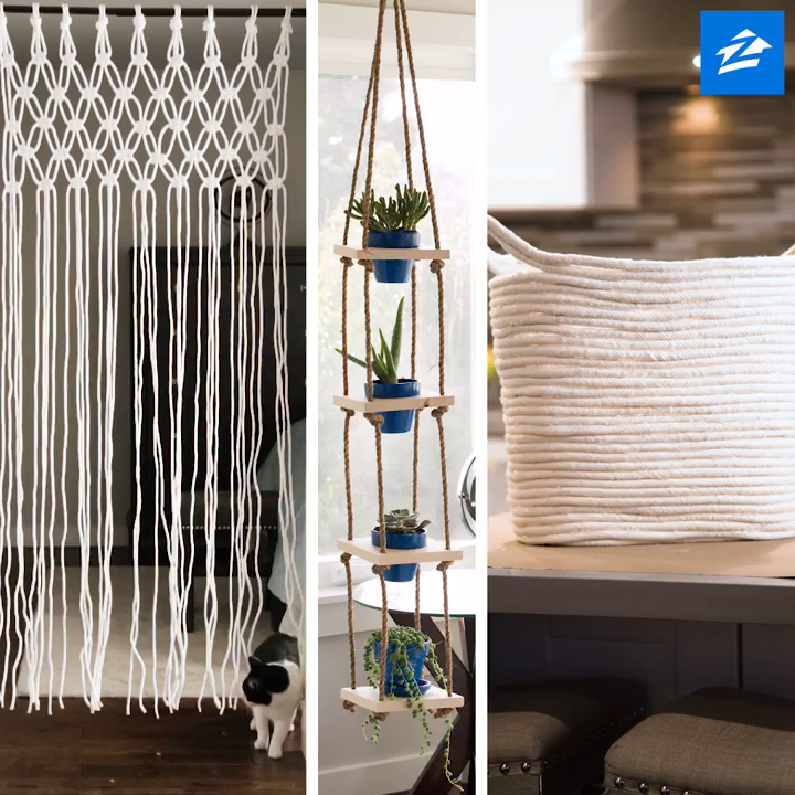 Repurpose Your Rope: 3 Decorative DIYs to Try