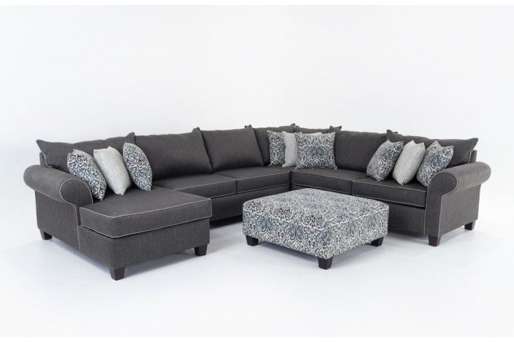 Best Ashton 5 Piece Right Arm Facing Sectional Sectionals 640 x 480
