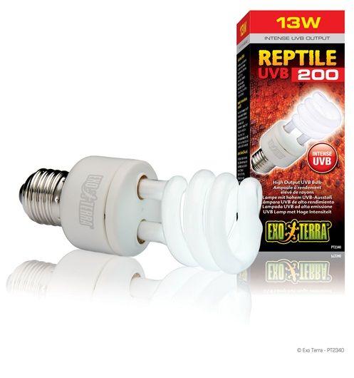 Reptile Uvb200 High Output Uvb Bulb Reptiles Bulb Reptile Lights