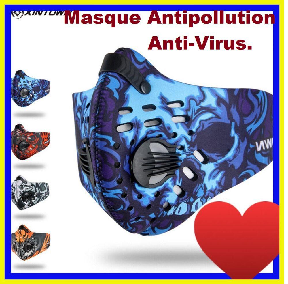 masque coreen anti pollution noir