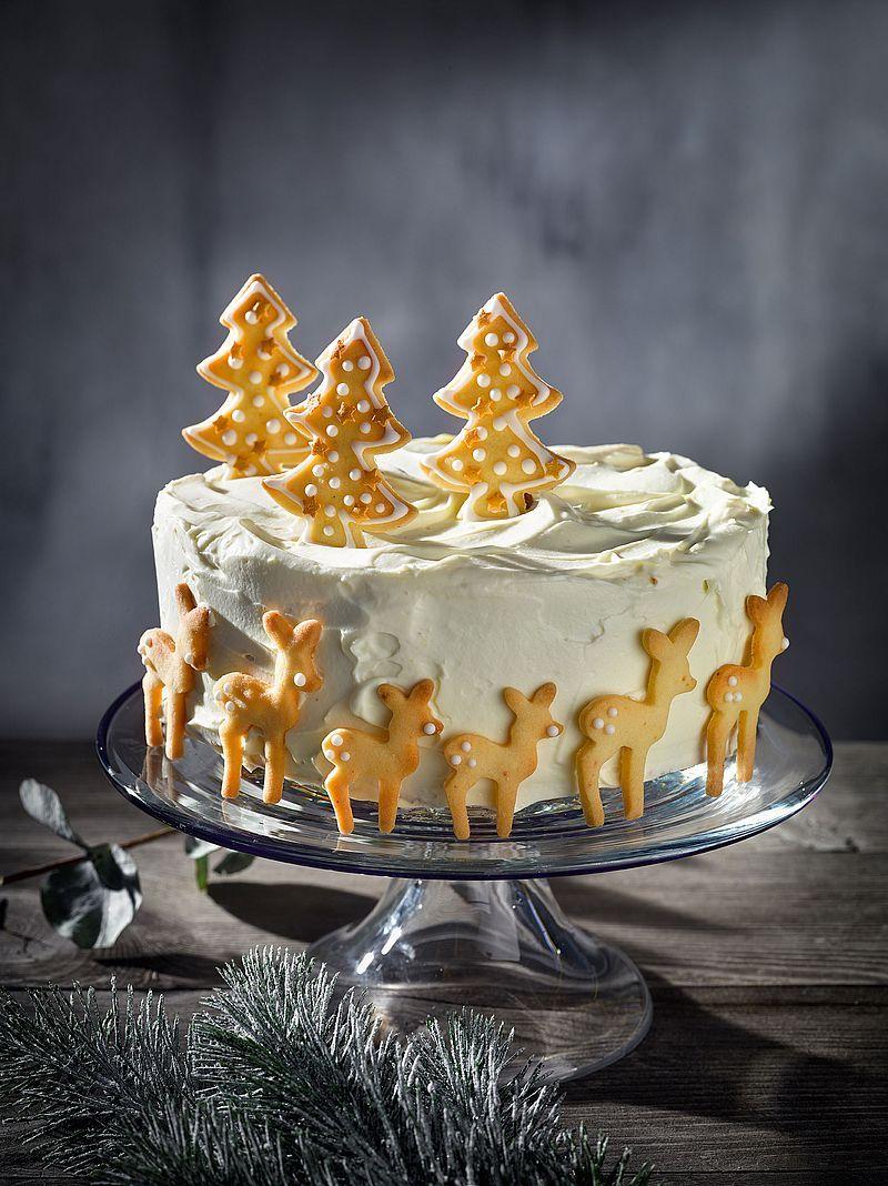 Herrliche Torte Mit Mascarponecreme Und Murbteigkeksen Torte Deko Weihnachten Advent Weihnachtsdessert Bac Platzchen Backen Rezepte Dessert Ideen Rezepte
