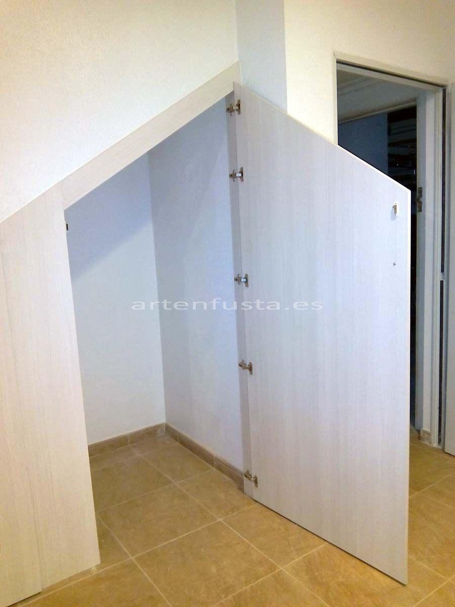 muebles bajo escalera mueble a medida de bajo escalera