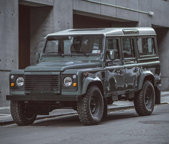 The Land Rover Defender Is Back Land Rover Defender Land Rover New Land Rover Defender