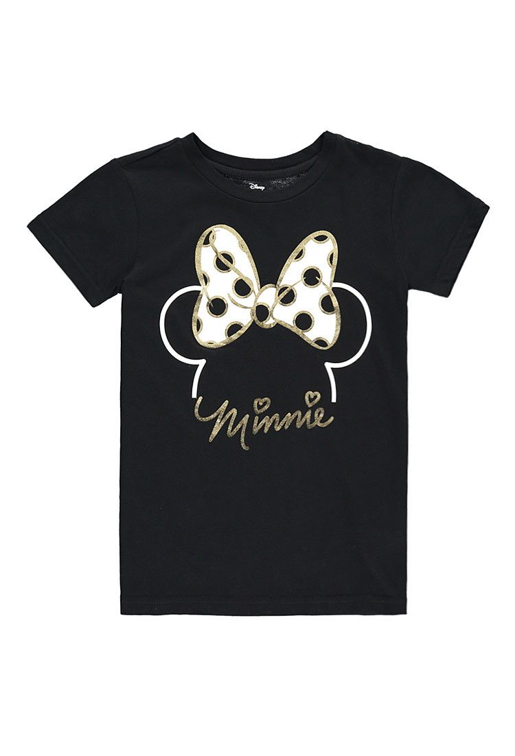 Minnie Mouse Bow Tee (Kids)  460796ff511