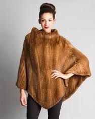 Image result for recycled fur poncho