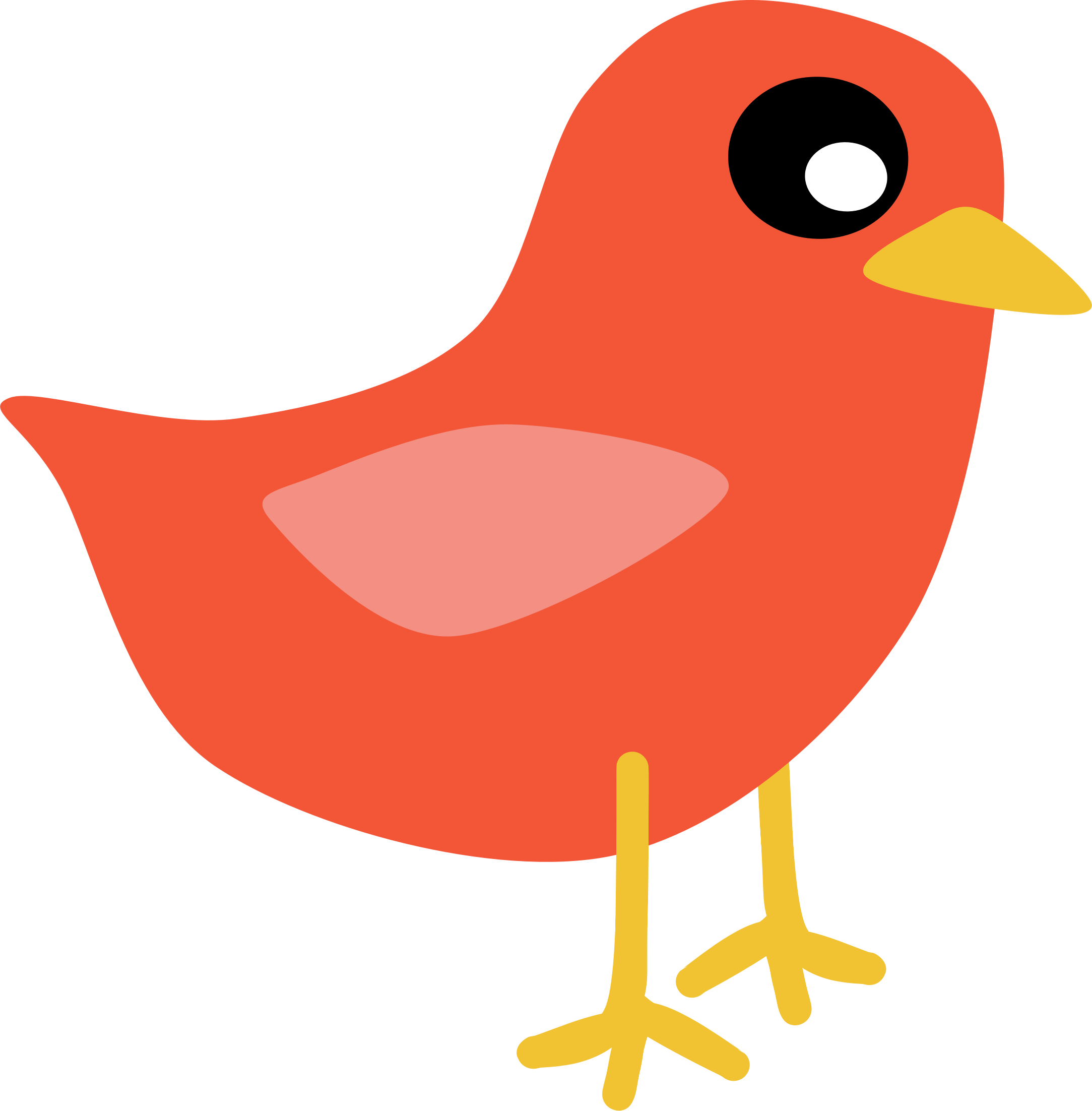 Red Bird By Scout Clip Art Red Birds Free Clip Art