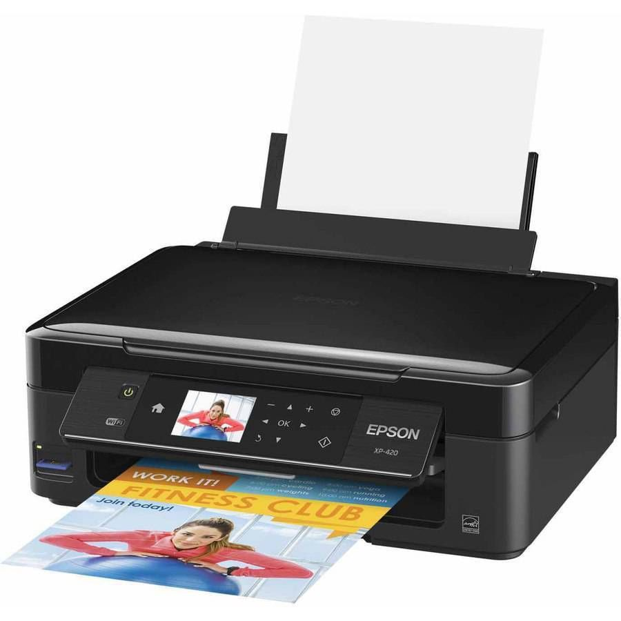 Epson Xp 420 Wifi Printer Scanner Copier Computer Portable Laptop Small In One Photo Printer Wifi Printer Color Photo Printer