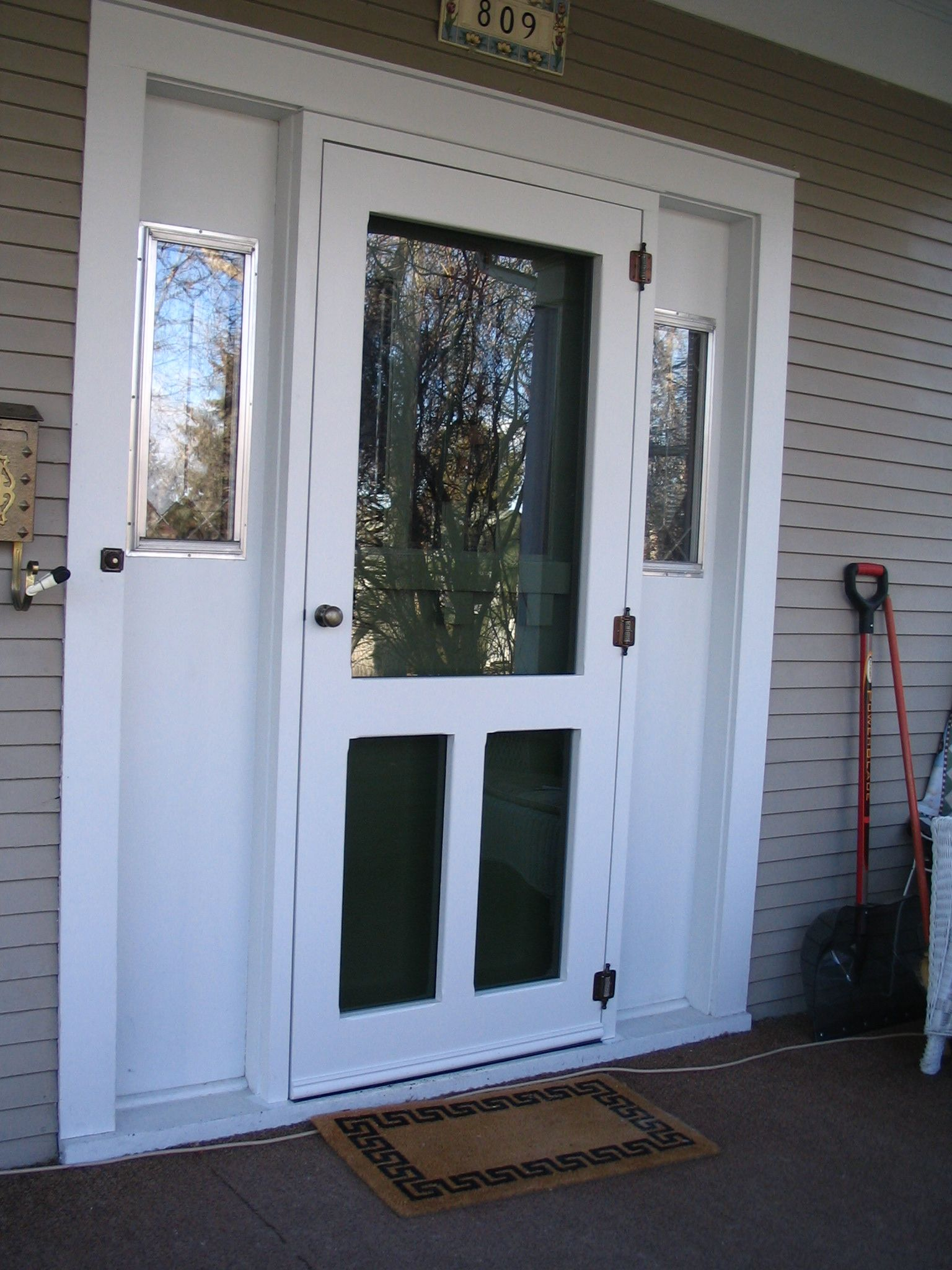 Traditional Screen Amp Storm Door Old Fashion Model Www