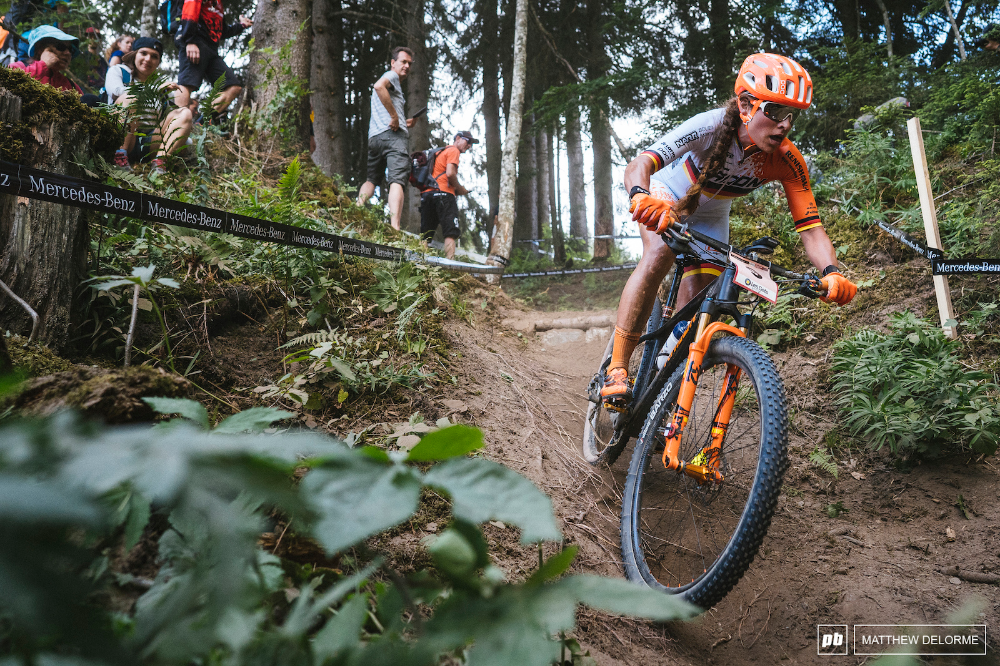 Finals Photo Epic Brawling In The Dust Les Gets World Cup Xc 2019 World Cup Bike Parking Bike Trails