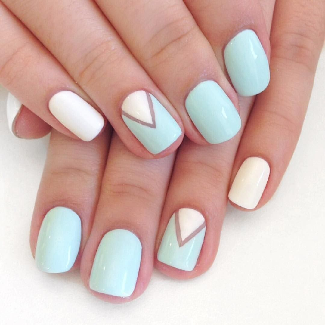 70 Simple Nail Design Ideas That Are Actually Easy Simple Nail Designs Nail Designs Summer Gel Simple Nails