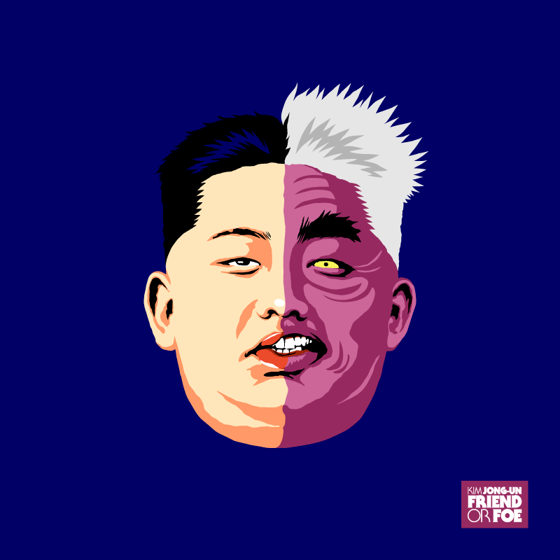 Kim Jong Un Friend Or Foe Project By Butcher Billy On Behance Pop Culture Consciousness Art Culture