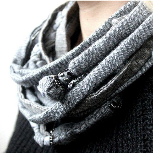 «Scarves & Mittens by PROTOTYPE @totprototype. Коллекция зимних аксессуаров.  100% шерсть. #totprototype #prototype #accessories #textileaccessories…»