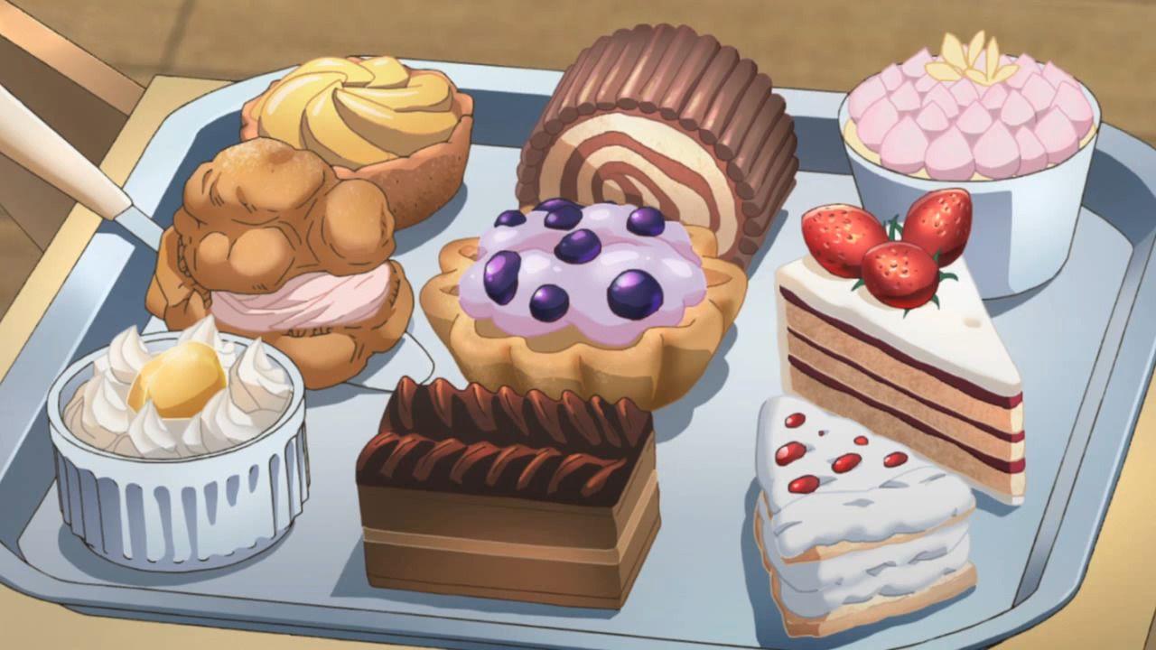 anime food dessert recipes