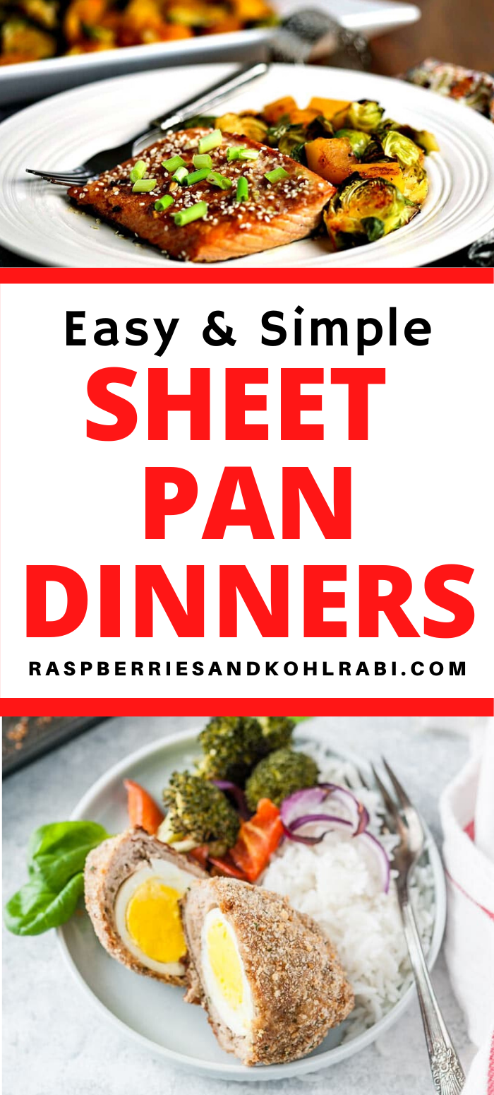 Quick and Easy Sheet Pan Meals