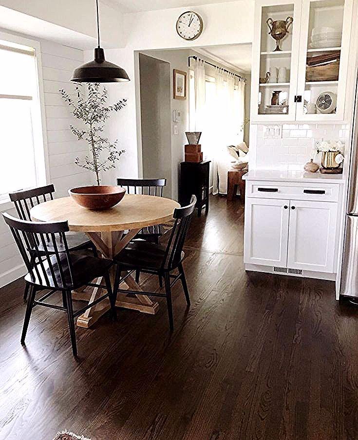 Weisskuchen Kuche Kuchengestaltung Kuchenideen Diyhomedecorwoodkitchencounters Kuche In 2020 With Images Dining Room Design Home Kitchens Cozy House