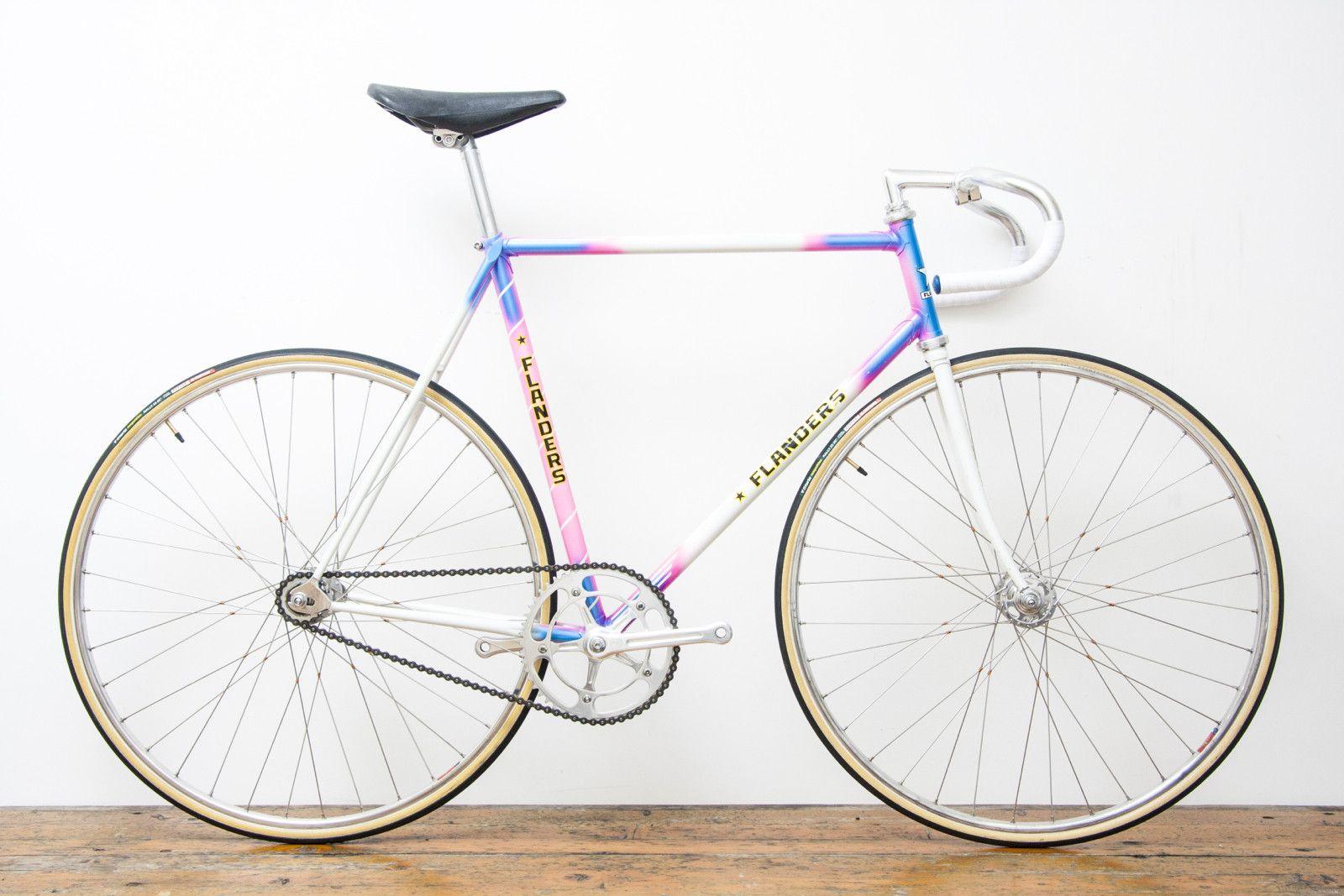 Pedal Pedlar - 55cm Flanders Vintage Track Bike | bike ...