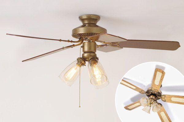 3 Ways To Spiff Up A Ceiling Fan Ceiling Fan Ceiling Fan Globes