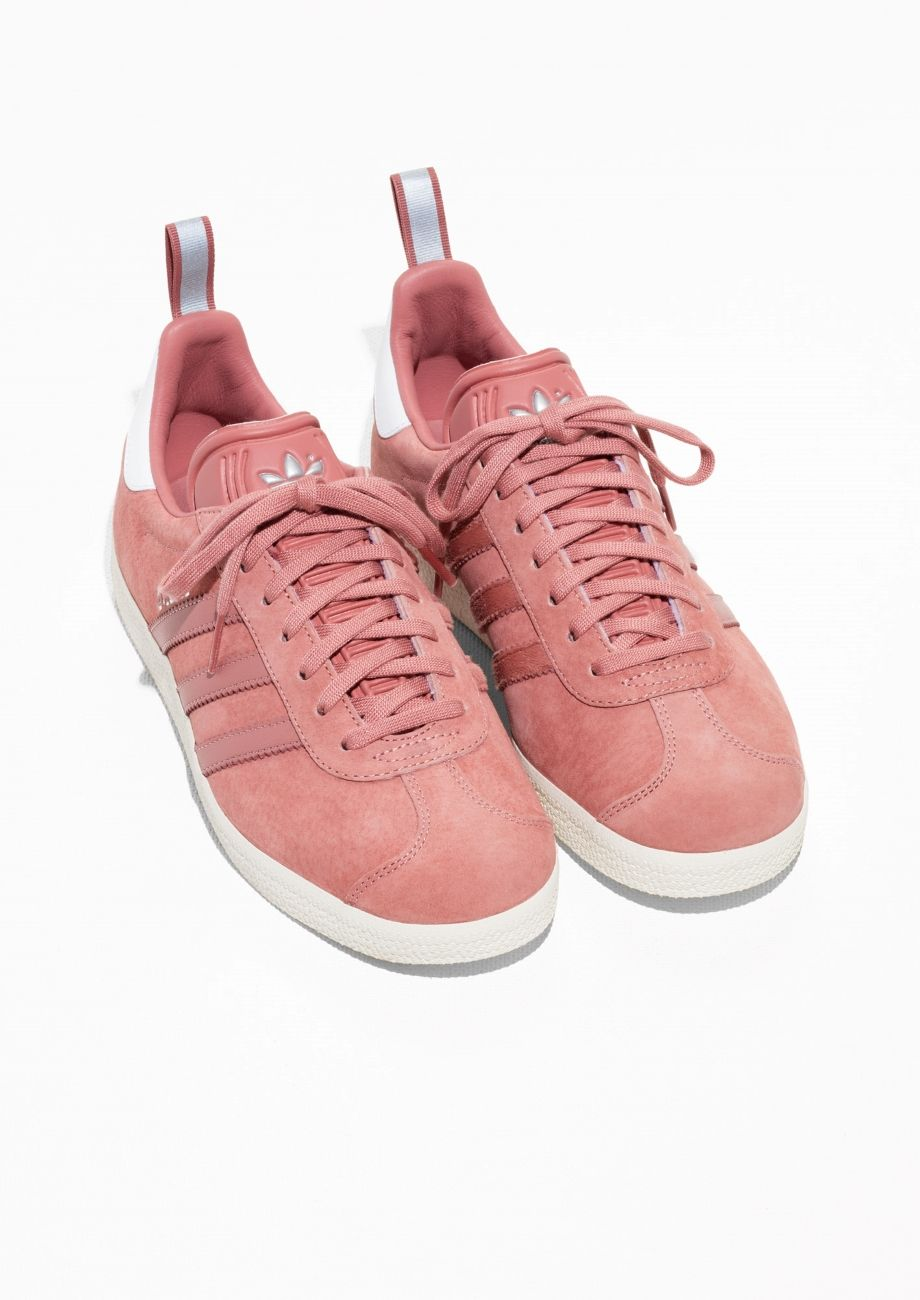 365858a348cf57   Other Stories image 2 of adidas Gazelle W in Pink