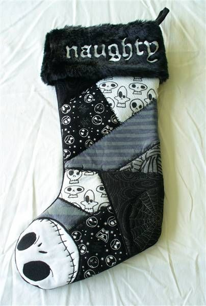nightmare before christmas stocking disney nightmare before christmas jack skellington naughty stocking