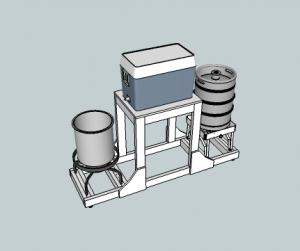 2 Tier Homebrew Rig Design - utilizes 1 pump btwn HLT up to