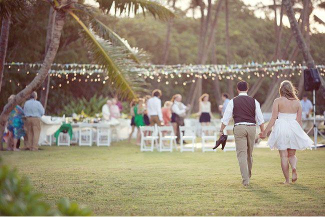 A Hawaii Backyard Wedding Kate Greg