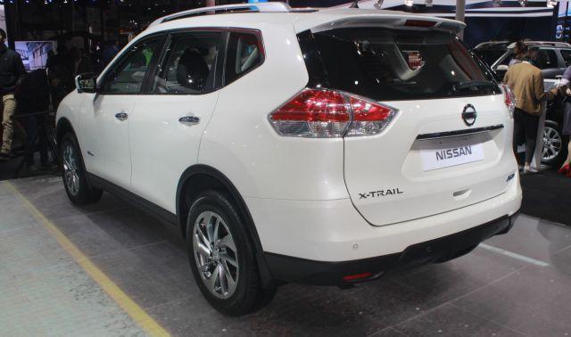 2018 Nissan X Trail Hybrid Rear Hybrid Car Nissan Suv