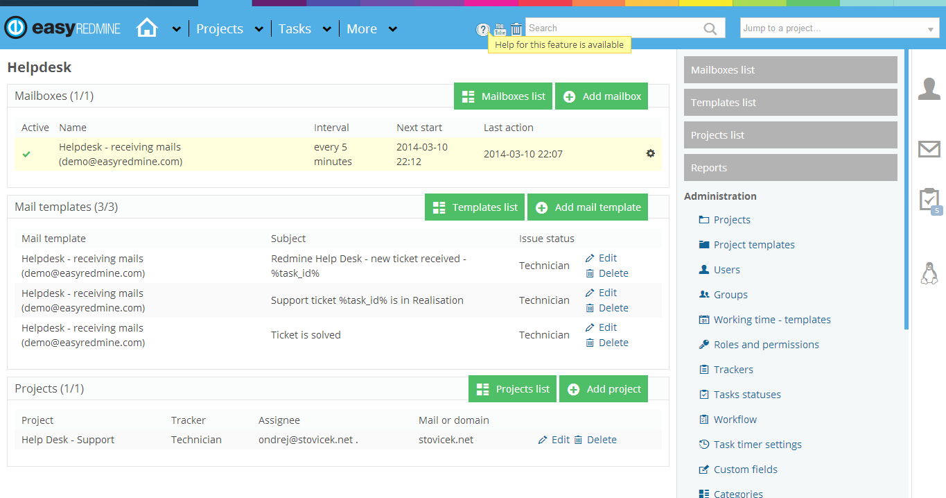 Pin by Easy Redmine on Redmine Plugins   Help desk, Easy