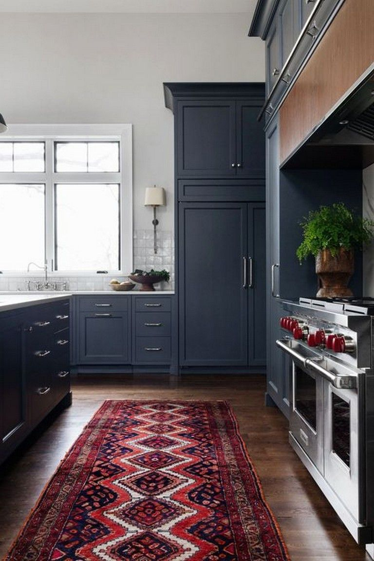 40 beautiful navy kitchen cabinets for decorating your kitchen page 11 of 41 navy kitchen on kitchen decor navy id=51707