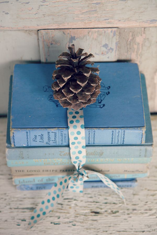 Vintage Blue Book Collection | Decor & Home Accessories ...