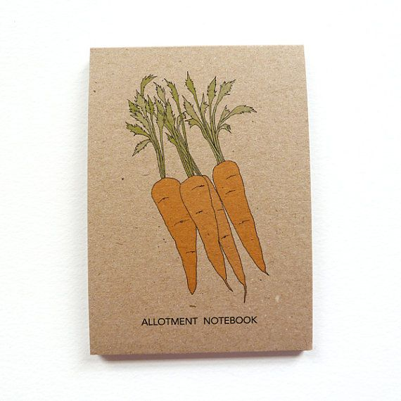 Allotment Notebook With Squared Paper