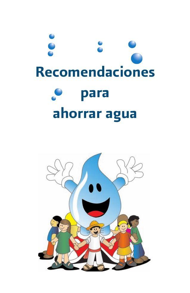 Recomendaciones para ahorrar agua dianita pinterest for Ideas para ahorrar agua