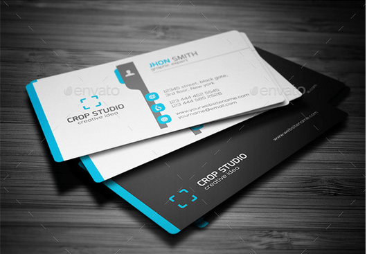 Corporate Business Card Template Graphic And Website Design - Best business card templates