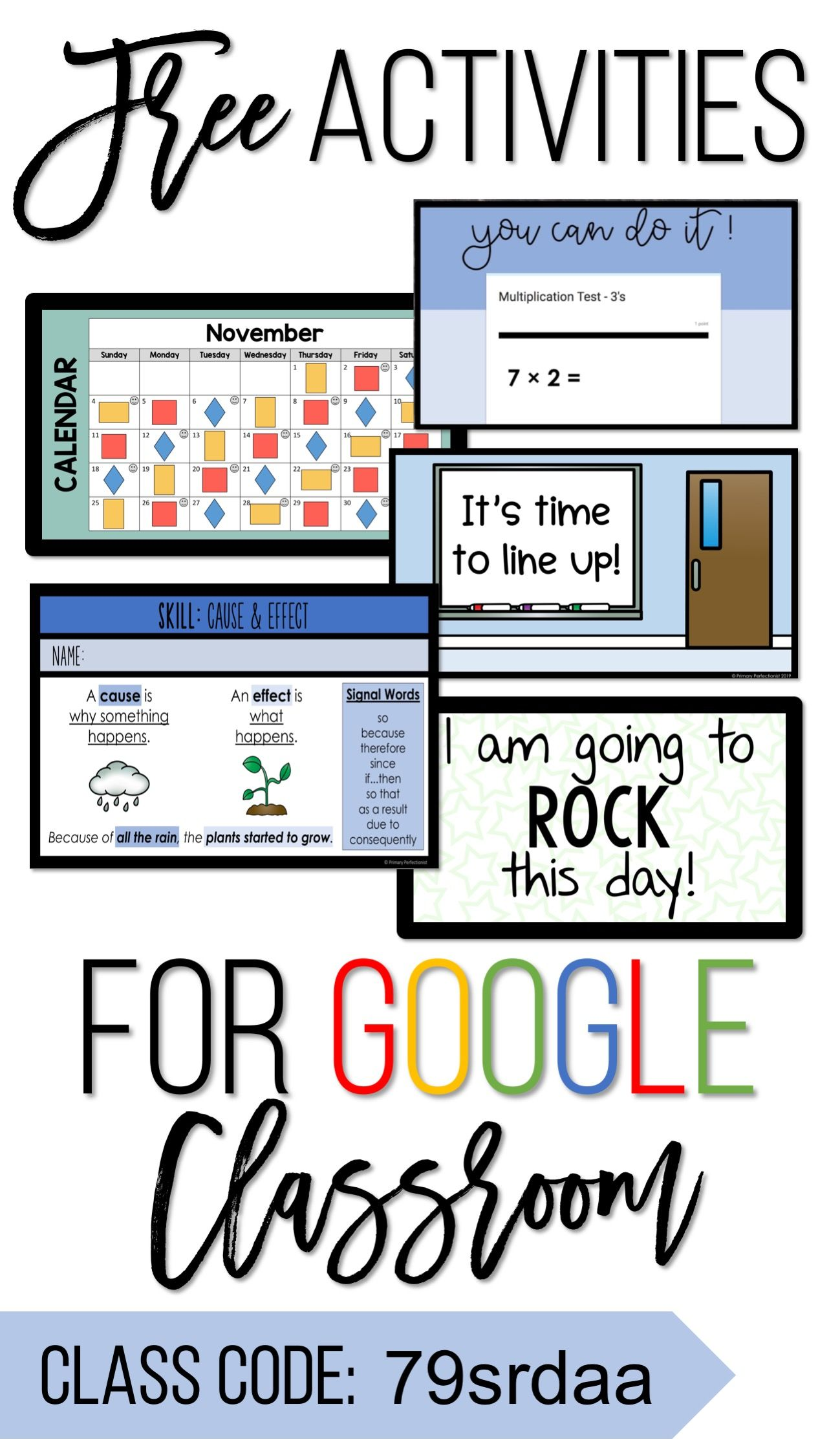 FREE Activities for Google Classroom   grades 2, 3, and 4 ...