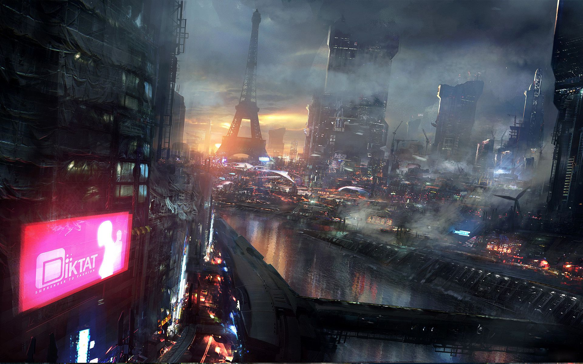 Huge cyberpunk artwallpaper dump cyberpunk wallpaper and fiction huge cyberpunk artwallpaper dump voltagebd Choice Image