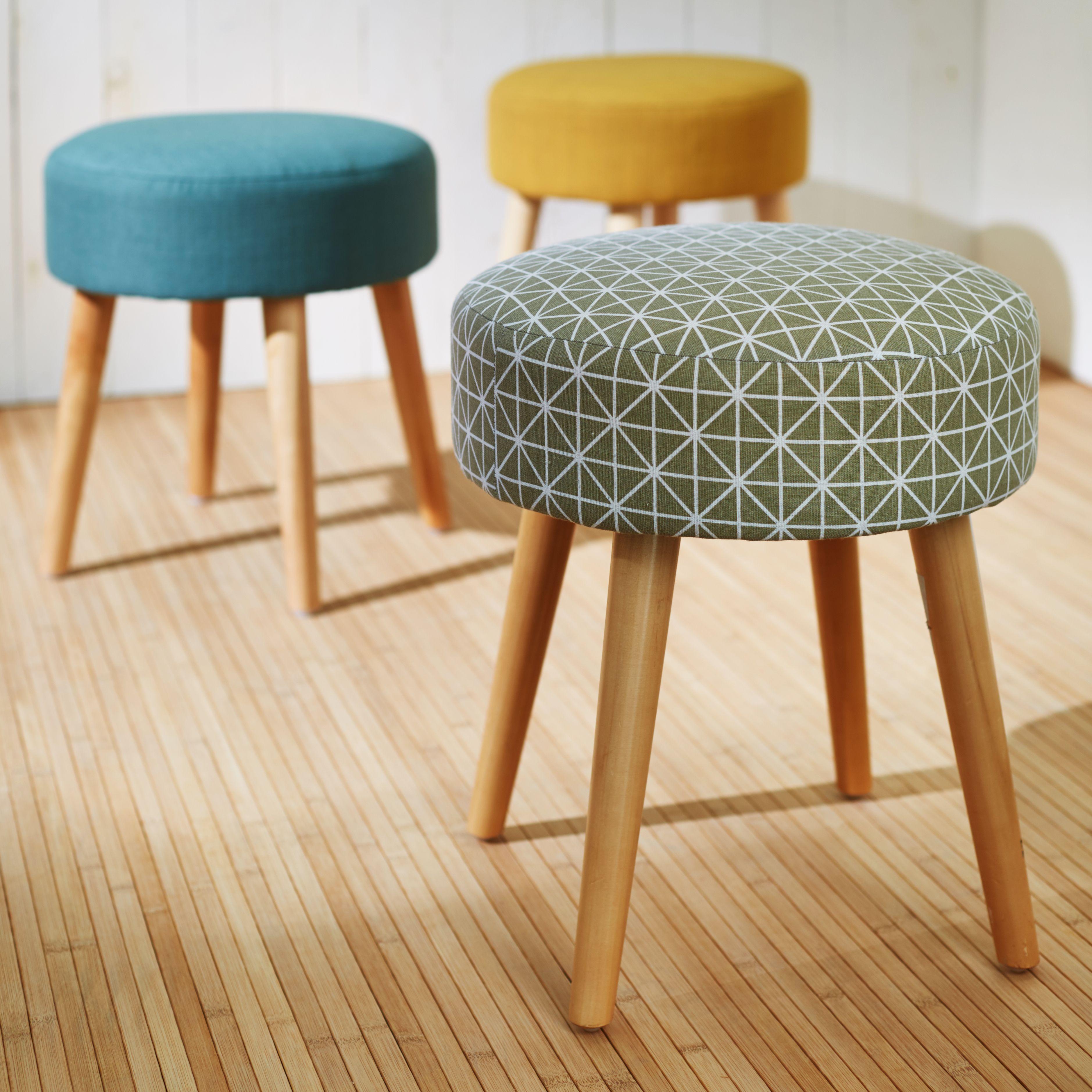 plume salon pouf en tissus d coration d co maison alin a f te des m res. Black Bedroom Furniture Sets. Home Design Ideas