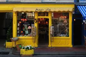 Shop front in Honfleur