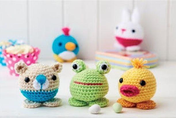 Amigurumi Easy Crochet Patterns : Cute little animals easy to make free amigurumi patterns easy
