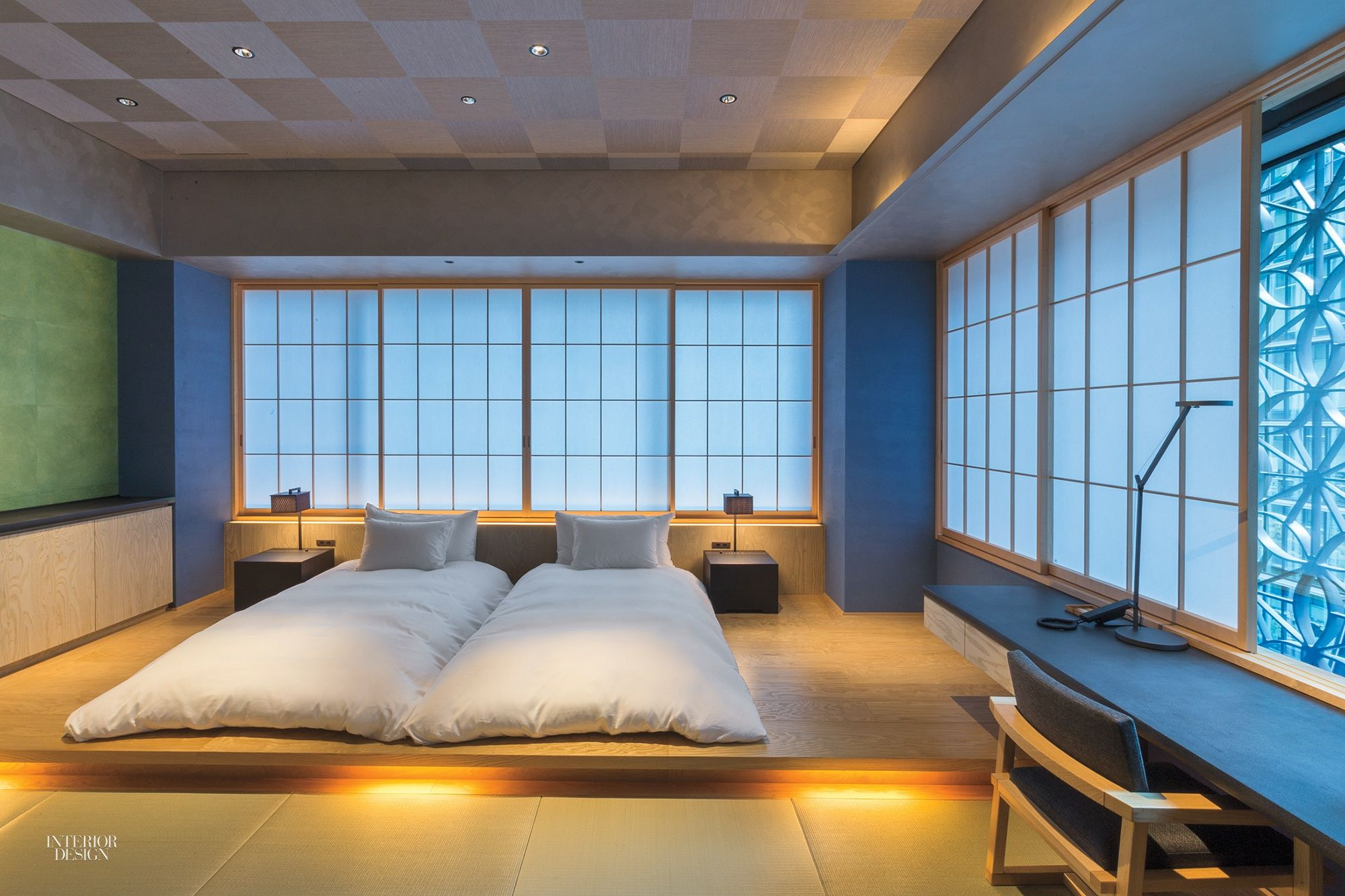 Hoshinoya Tokyo Spa Hotel By Rie Azuma Reinvents The Traditional Japanese Ryokan Japanese Style Bedroom Japanese Bedroom Japanese Home Design